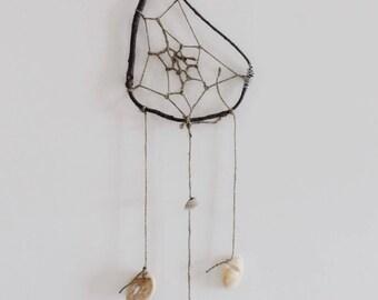 Handmade dream catcher tear drop