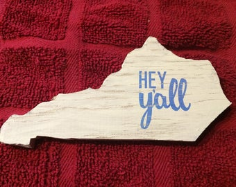 "Kentucky ""Hey Yall"" magnets and decorations"