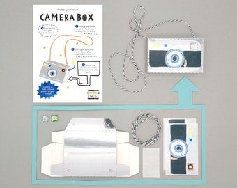 Make Your Own Camera Box Kits - Perfect for Party Bags
