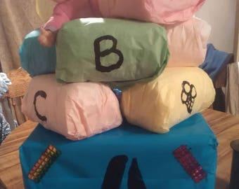 Baby Blocks Diaper Cake