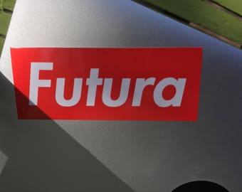 Futura Font 'Supreme' Sticker