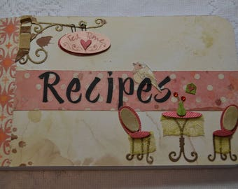 "Altered Composition Recipe Book, 4.5"" x 7.5"""
