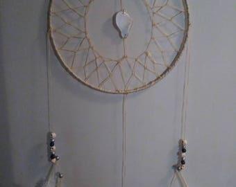 Handmade Dream catcher with stone center