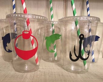 Fishing Party Cups