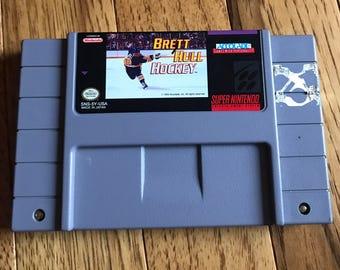 Brett Hull Hockey SNES Super Nintendo