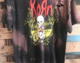 Korn vintage style band tee