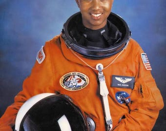 The first African-American woman in space Dr. Mae C. Jemison