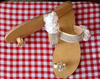 Shiny  sandals