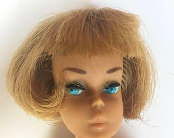 Vintage Barbie - American Girl Barbie with bendable legs 1960's