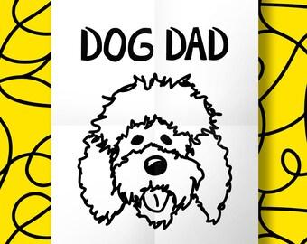 Custom Dog Dad Print Dog Mom Print Dog Parents Print Dog Print Custom Print Housewarming Gift Wedding Gift Gift for men Shower Gift Custom