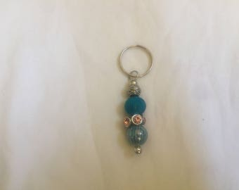 Bead and or charm key chain