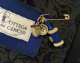 brooch Bottega del Rag