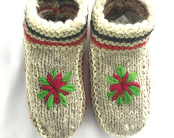 Wool Slipper Socks