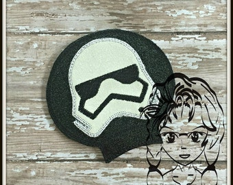 SW SToRM TRooPs Ear (Add On ~ 1 Pc) Mr Ms Mouse Ears Headband ~ In the Hoop ~ Downloadable DiGiTaL Machine Embroidery Design by Carrie