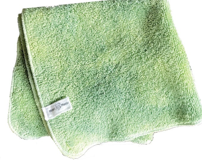 Green Tonic, Organic Herbal Washcloth for dry + oily skin care. Nourish with Nature