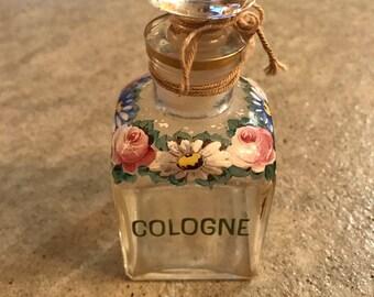 SALE!!! Antique apothecary cologne bottle