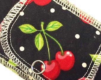 Overnight Moonpad Reusable Menstrual Pad Washable Cloth Pads - Cherry