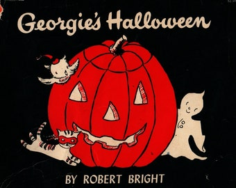 Georgie's Halloween - Robert Bright - Robert Bright - 1958 - Vintage Kids Book