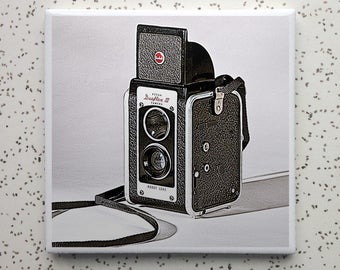 Duaflex Vintage Camera Coaster