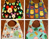 Baby Bib - Mickey Mouse, Toy Story, Snow White or Muppets