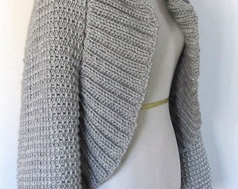 Pattern Only - Chunky Ribbed Cardigan Knitting Pattern