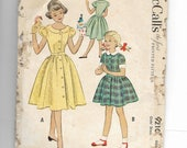 McCall's Girl's Dress Pattern 9210