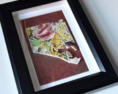 Framed Recycled China Baltimore - Garden Bouquet