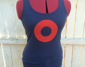 Phish Donut Scoop Tank Top M