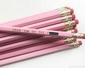 Mature Pencil Set. Election Pencil. Back To School. Funny Pencils.