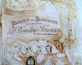 romantic lace journal, make one yourself