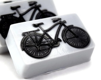 Two Tone Bicycle Soap, Bike Soap, Gift for Biker