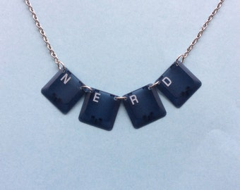 NERD Computer Necklace