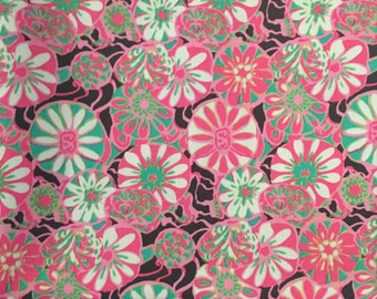 Amy Butler True Colors Daisy Shine Pink Cotton Fabric By the Yard