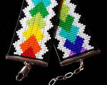 Bold rainbow bracelet