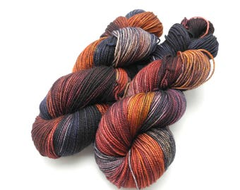 Gasoline Rainbow Variegated Hand Dyed Yarn - Made to Order