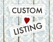 Custom Listing for pacabapa
