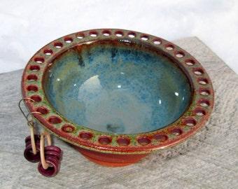 Handmade Earring Bowl - Jewelry Holder