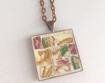 Treasured Memories Mosaic Pendant