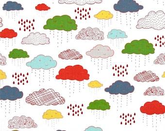 Riley Blake FABRIC - Adventure Clouds - Multi