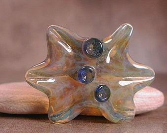 Borosilicate Glass Focal Bead Amoeba Series Divine Spark Designs SRA