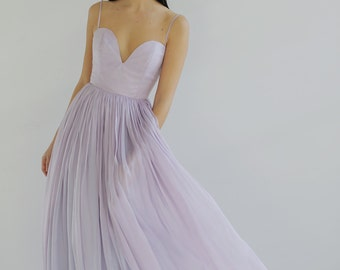 Sample Sale - One of a kind Silk Special Occasion Dress--Size 6