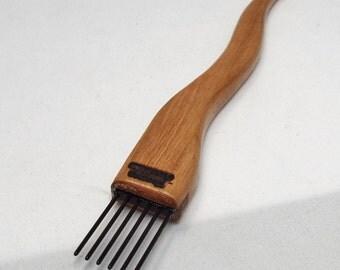 weaving beater- toothpick-Cherry-coarse