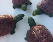 Reserved for Blackie - 4 Vintage Turtles - Made in Hong Kong - Tommy and Tammy