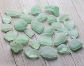 Bulk sea glass - Genuine Sea glass beach glass - Sea glass crafts - Coke bottles - Alaskan sea glass beach glass - Coca cola bottles - Aqua