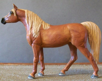One of a Kind Made to Order Little Bit Paddock Pal Collecta Horse