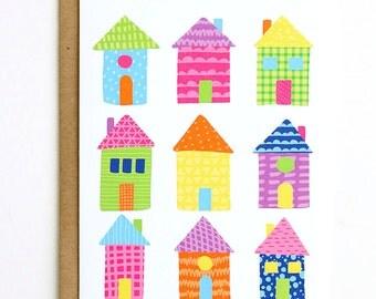 Houses Card