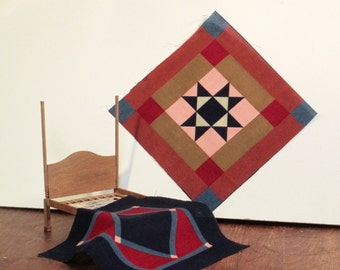 DIY miniature Amish quilt fabric #4