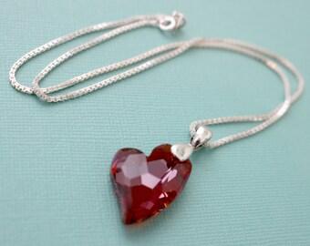 Swarovski Heart Pendant