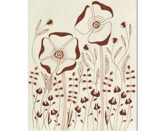 Autumn Flowers // archival print