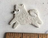 Ready to Ship Mosaic Ceramic Porcelain Tile or pin American Eskimo